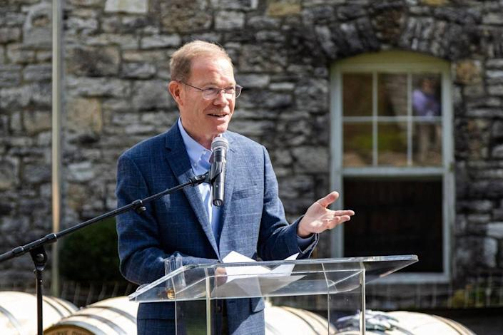 Woodford Reserve Master Distiller Chris Morris said he had no idea that the brand would grow this big in the last 25 years.