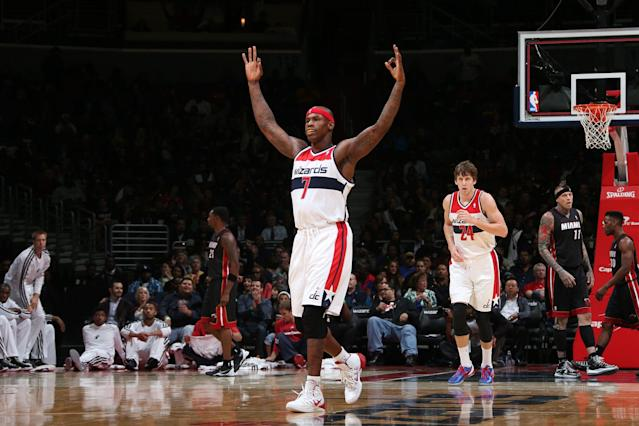 Al Harrington, who played in the NBA for 16 seasons, has now found a second calling in the marijuana business. (Ned Dishman/Getty Images)