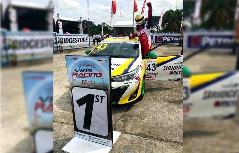 Seno tops Bridgestone Sporting Class of Vios Racing Festival