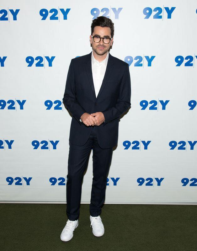 """Dan Levy at a 92nd Street Y """"Schitt's Creek"""" panel in New York City on March 14, 2016."""