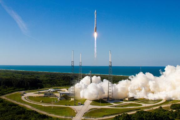 New GPS Satellite Launched on Atlas 5 Rocket