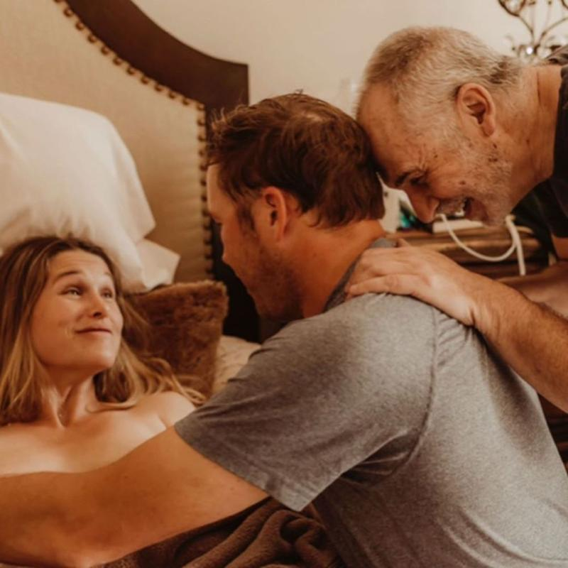 Bode and Morgan Miller's twins' birth | McCall Miller Photography