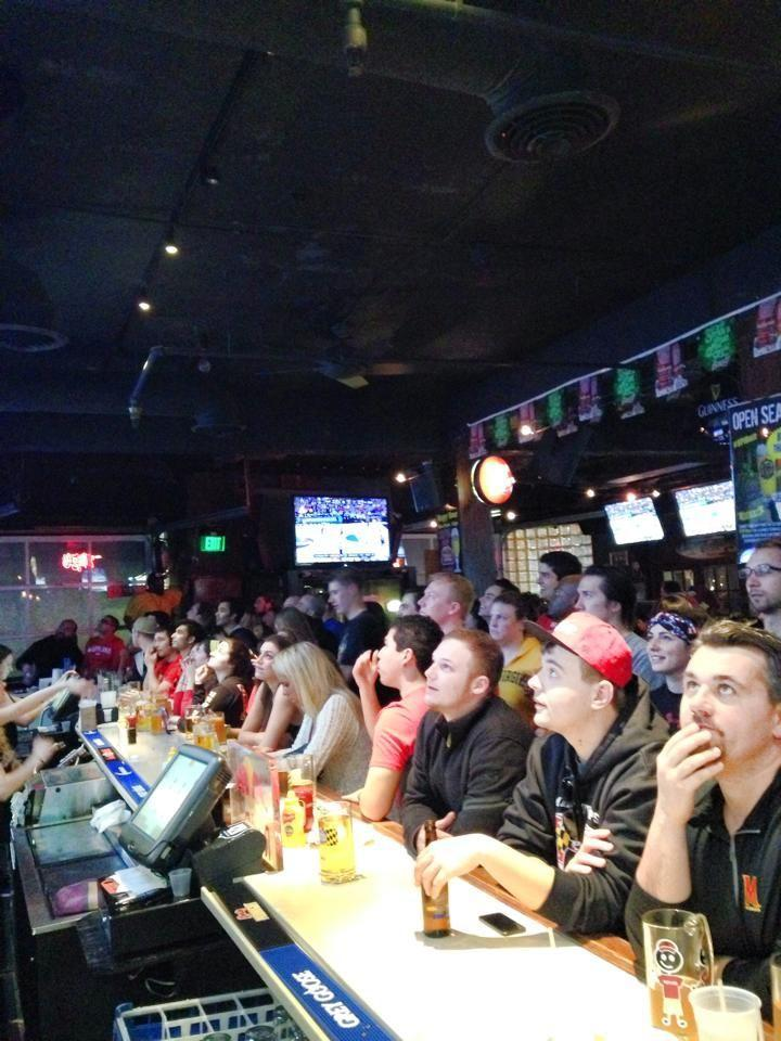 """<p>Nachos and """"Big Ass Beer"""" specials keep Terps fans fueled up at <a href=""""https://go.redirectingat.com?id=74968X1596630&url=https%3A%2F%2Fwww.tripadvisor.com%2FAttraction_Review-g41078-d5833310-Reviews-The_Cornerstone_Grill_Loft-College_Park_Maryland.html&sref=https%3A%2F%2Fwww.bestproducts.com%2Ffun-things-to-do%2Fg2528%2Fbest-college-bars%2F"""" rel=""""nofollow noopener"""" target=""""_blank"""" data-ylk=""""slk:Cornerstone Grill & Loft"""" class=""""link rapid-noclick-resp"""">Cornerstone Grill & Loft</a>. Those less inclined to watch the game can take advantage of pool tables and plenty of space for dancing in the bar.</p>"""