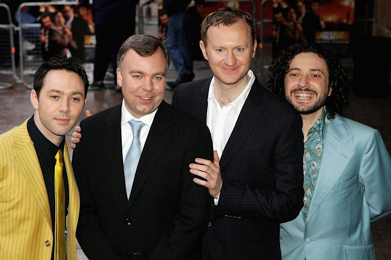 Reunited: Three of the four League of Gentlemen stars are in Good Omens: Gareth Cattermole/Getty Images