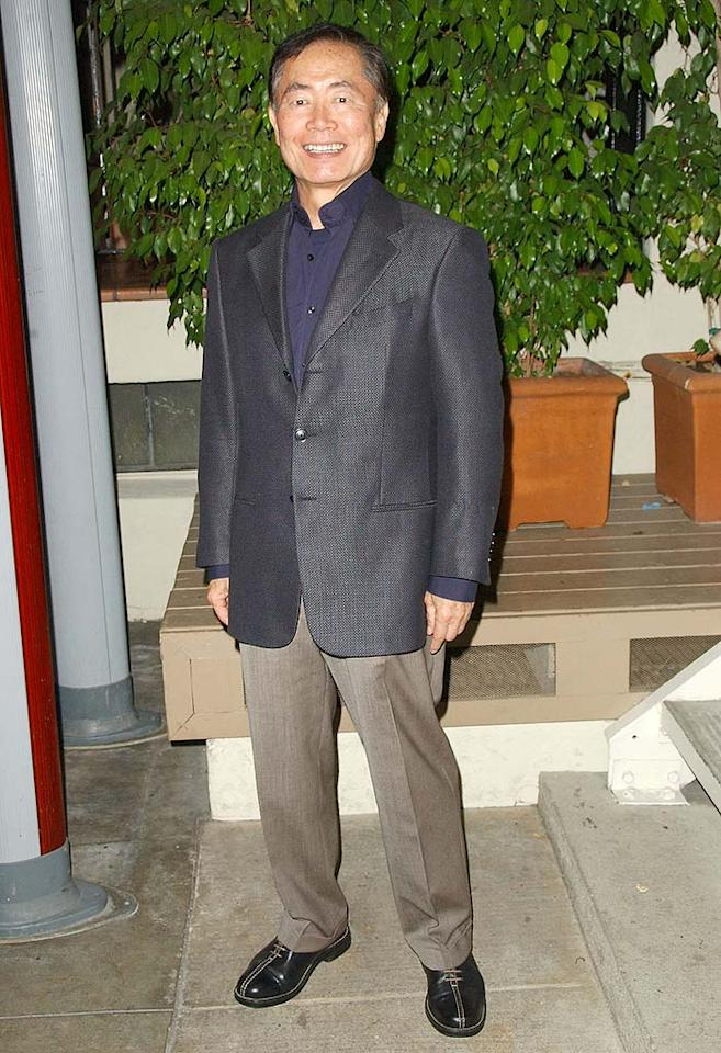 """""""Star Trek's"""" George Takei has been a pioneer for Asian Americans and gay actors in Hollywood. A new generation of sci-fi fans have recently discovered him thanks to """"Heroes."""" Dave M. Bennett/<a href=""""http://www.gettyimages.com/"""" target=""""new"""">GettyImages.com</a> - February 20, 2008"""