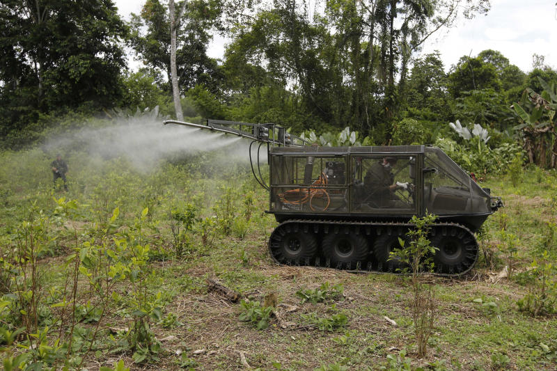 Colombia Coca Spraying