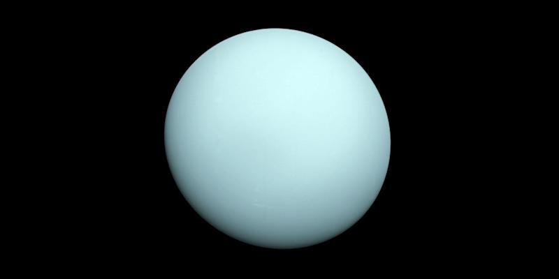 Big collision behind unusual tilt of Uranus