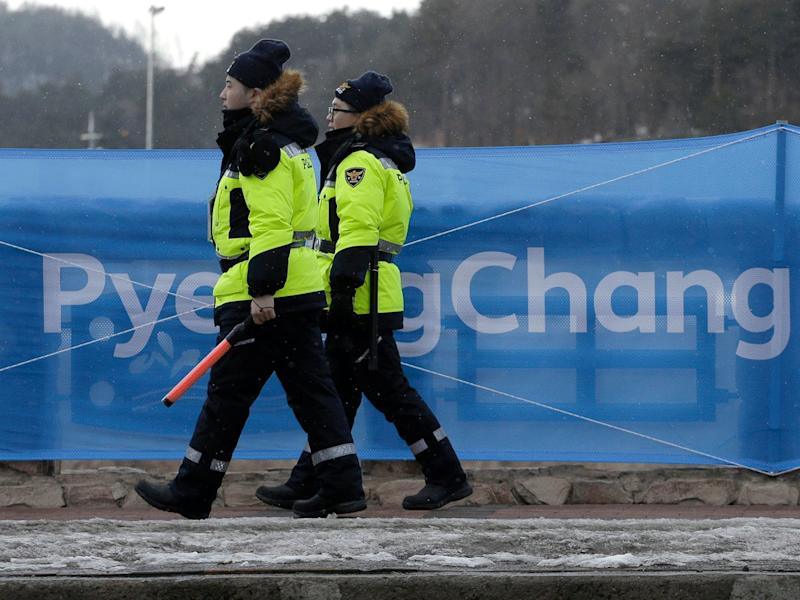 winter olympic security workers tested for norovirus main Pyeongchang, South Korea