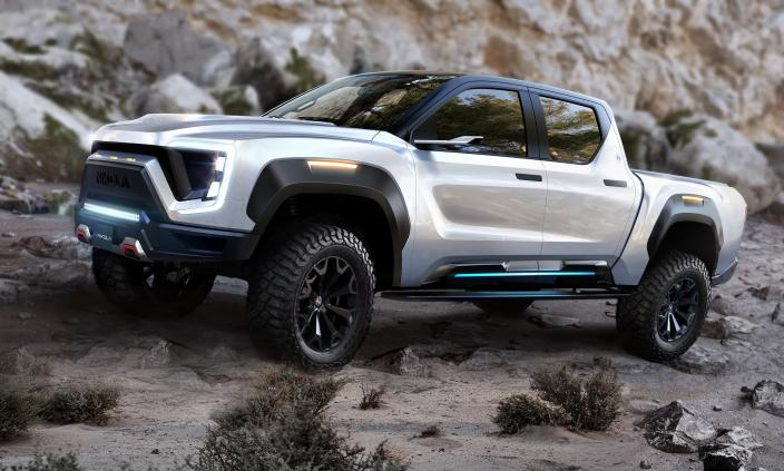 Nikola has announced the electric Badger pickup ahead of its September debut.