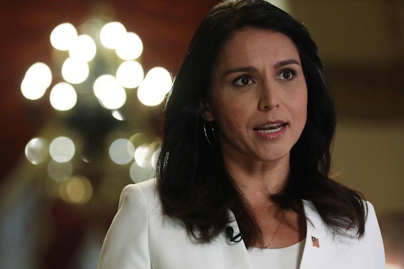 Tulsi Gabbard appeals to Trump voters. That may be an obstacle