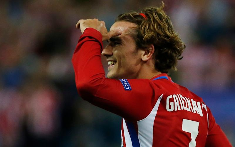 Antoine Griezmann, the Atlético Madrid forward, is what many around Old Trafford consider to be the perfect play to play the 'Manchester United way' - REUTERS