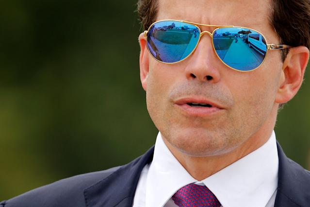 Former White House communications director Anthony Scaramucci. (Photo: Jonathan Ernst/Reuters)