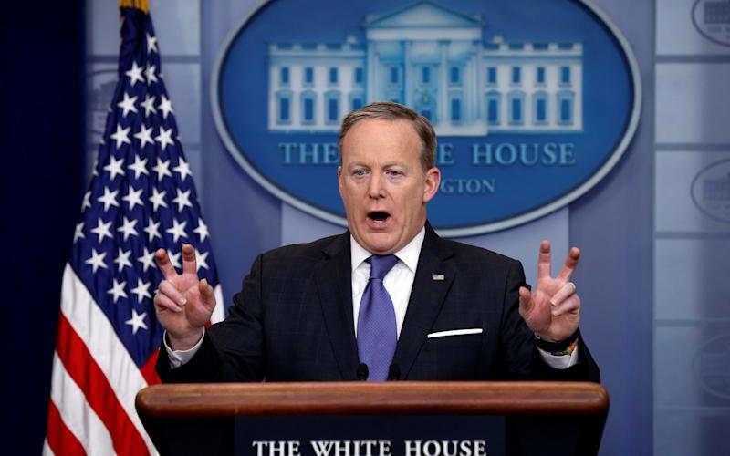 White House spokesman Sean Spicer - Reuters