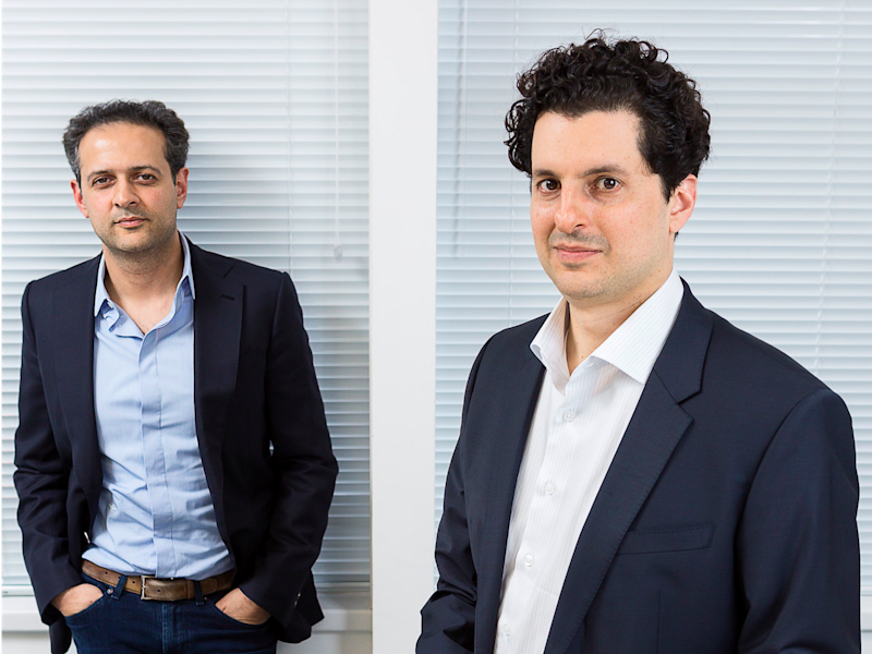 OakNorth founders Rishi Kholsa, left, and Joel Perlman.