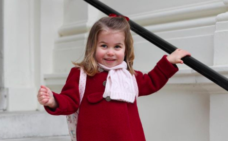Kensington Palace has released two new portraits of Princess Charlotte taken by the Duchess of Cambridge [Photo: Getty]