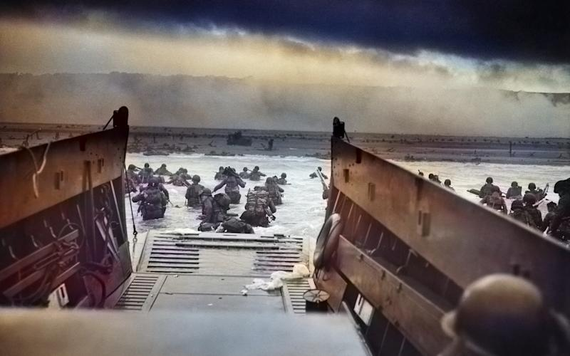 The D-Day fallen must be respected say historians and experts - ARCHIVE PHOTOS