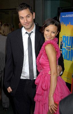 "Premiere: Ol Parker and <a href=""/movie/contributor/1800018708"">Thandie Newton</a> at the Los Angeles premiere of Picturehouse's <a href=""/movie/1809787398/info"">Run, Fat Boy, Run</a> - 03/24/2008<br>Photo: <a href=""http://www.wireimage.com/"">Gregg DeGuire, WireImage.com</a>"