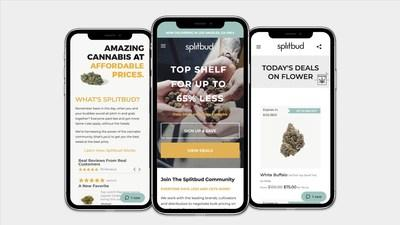 The Splitbud platform aims to bring affordability to cannabis (CNW Group/Splitbud)