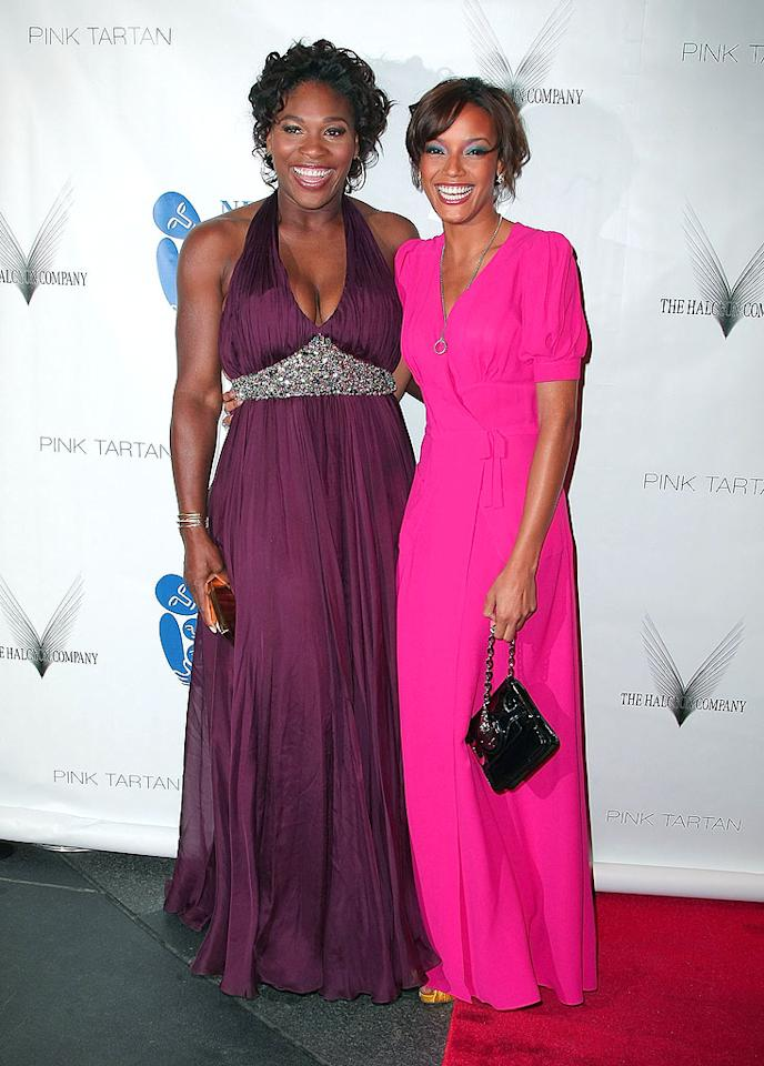 "Tennis ace Serena Williams and Selita Ebanks shared the spotlight as they strolled down the red carpet. Andrew H. Walker/<a href=""http://www.gettyimages.com/"" target=""new"">GettyImages.com</a> - April 15, 2009"