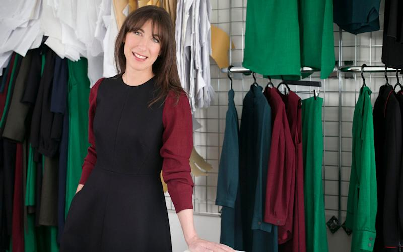 Samantha Cameron, owner of Cefinn, a contemporary designer womenswear brand based in London which was launched in February 2017. - Rebecca Reid / eyevine