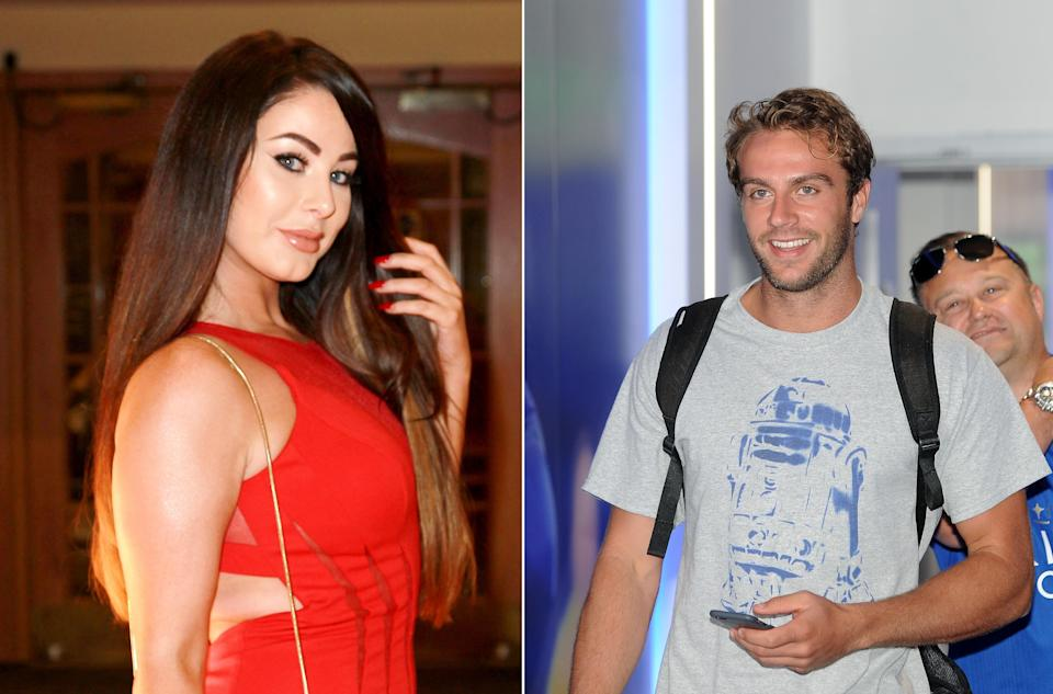 Jessica Hayes and Max Morley. (REX, Getty)