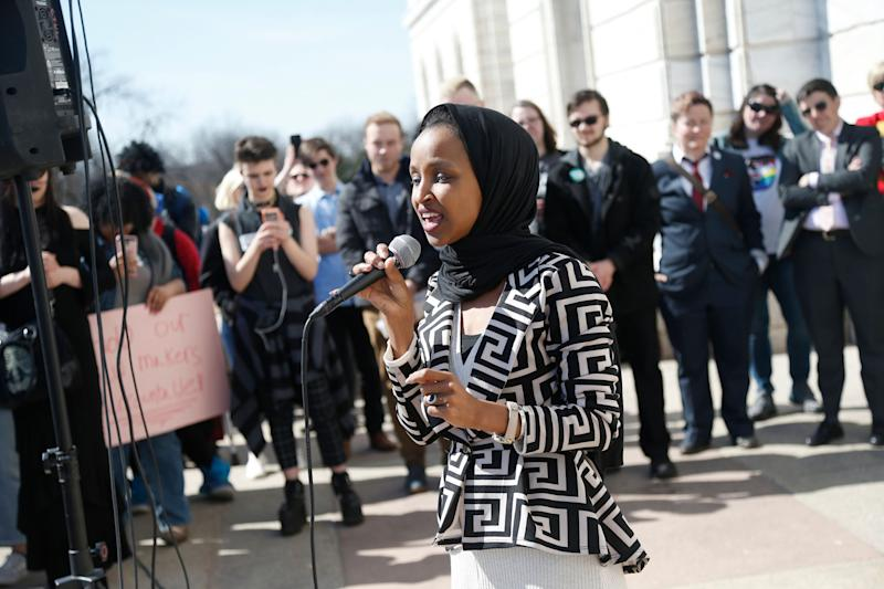 Rep. Ilhan Omar faced an uptick in death threats after President Donald Trump increased his rhetorical attacks against her. (Photo: ASSOCIATED PRESS)