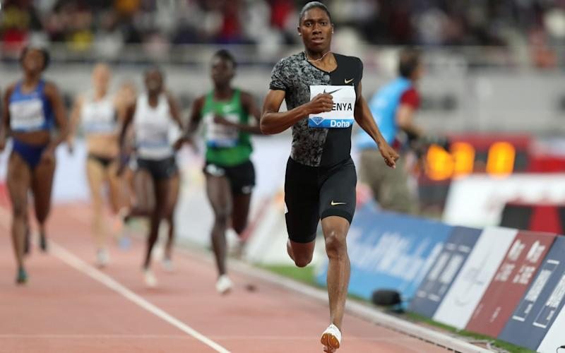 Semenya was responding to a report commissioned by the UN's Human Rights Council - REUTERS
