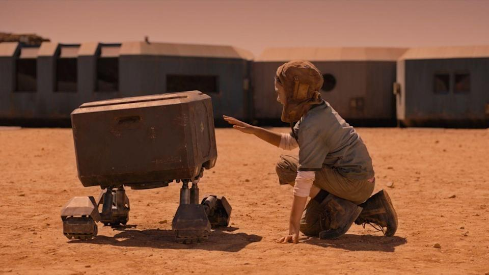 <p>Directed by Wyatt Rockefeller and starring Jonny Lee Miller, Sofia Boutella, and Brooklynn Prince, this intergalactic thriller, which pays homage to classic Westerns, follows a family living on Mars as they tangle with hostile intruders—and end up in life-or-death circumstances.</p>