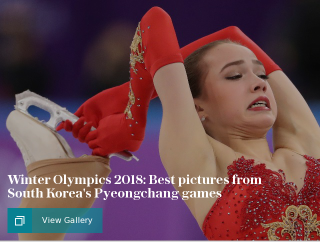 Winter Olympics 2018: Best pictures from South Korea's PyeongChang games