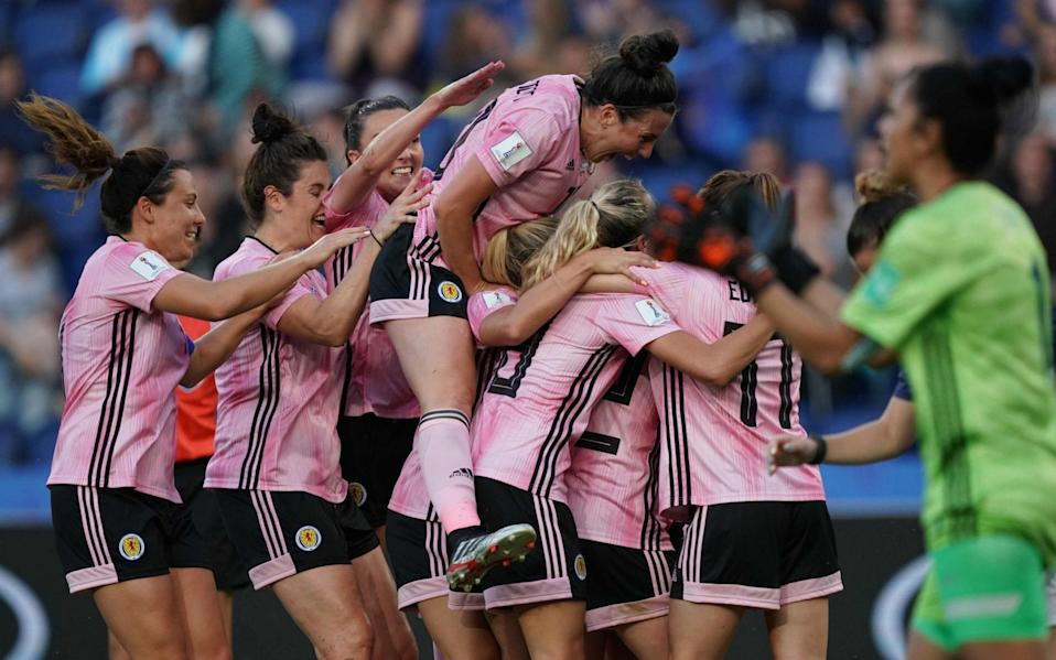 Women's football in Scotland given boost - AFP