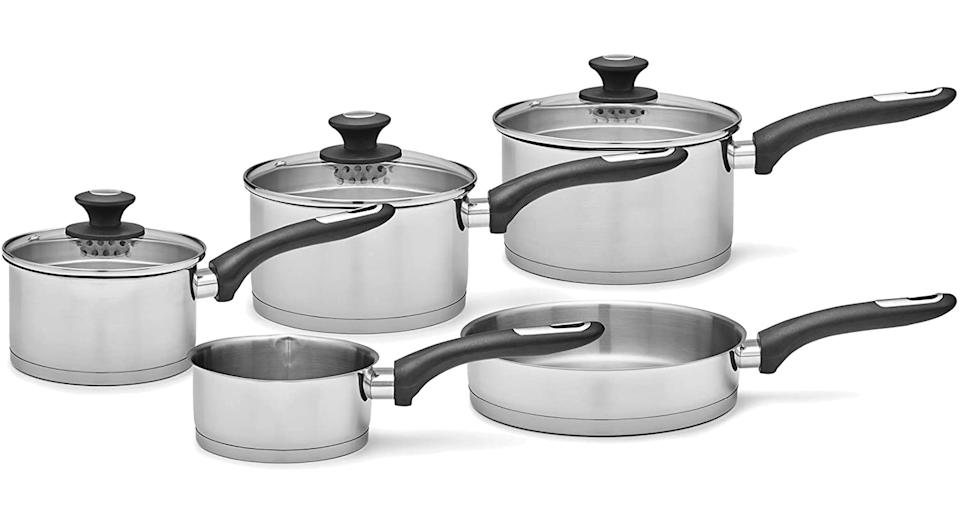 Morphy Richards 979025 Equip 5 Piece Pan Set