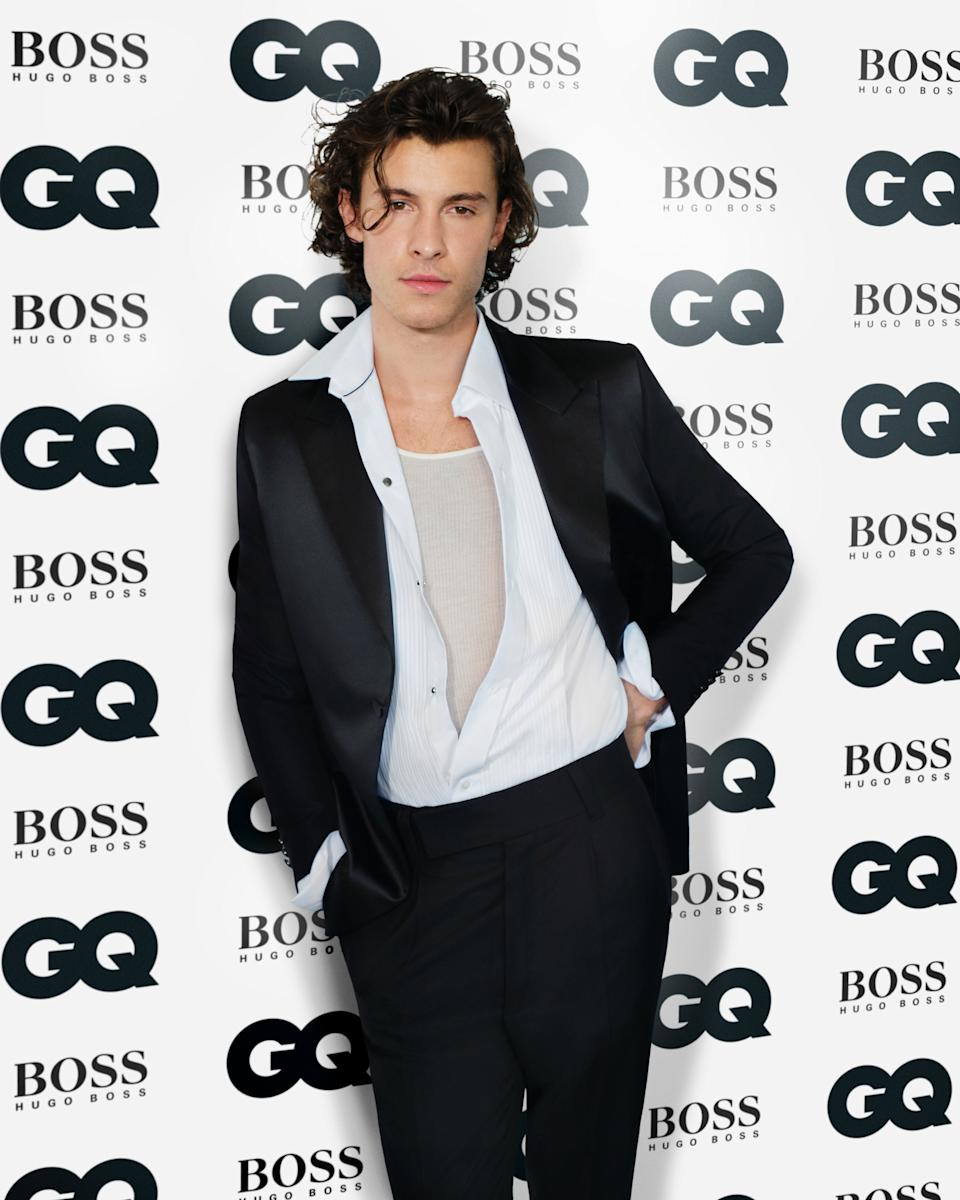 <p>Shawn Mendes</p>GQ MEN OF THE YEAR AWARDS 2020 IN ASSOCIATION WITH HUGO BOSS