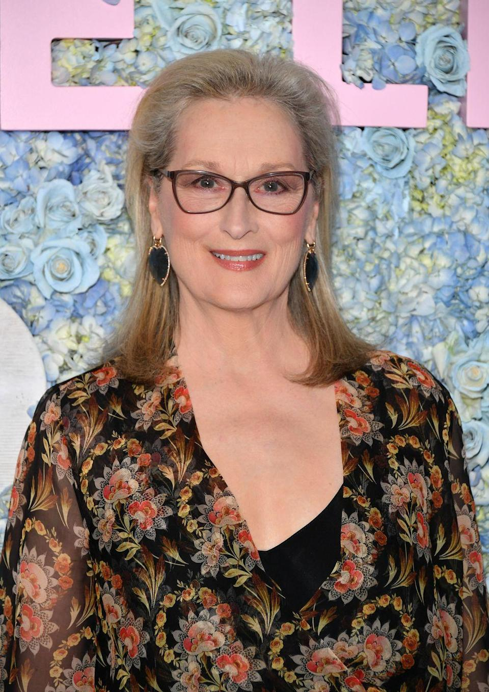 <p>It's more popular than ever to go with your natural (and yes, sometimes gray) hair. For your new fall hair color, take a note from actress <strong>Meryl Streep</strong> and let your grays oh-so-subtly come forward. </p>