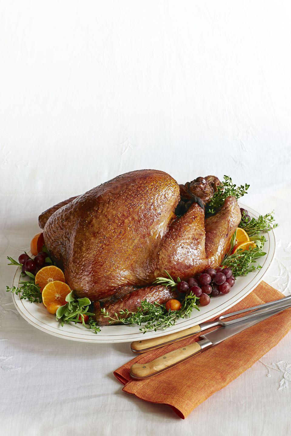 "<p>Here's the moment you'e all been waiting for: <a href=""https://www.goodhousekeeping.com/holidays/thanksgiving-ideas/g4689/thanksgiving-turkey-recipes/"" rel=""nofollow noopener"" target=""_blank"" data-ylk=""slk:the drool-worthy turkey recipe"" class=""link rapid-noclick-resp"">the drool-worthy turkey recipe</a>. Remember: Ina knows best.</p><p><em><a href=""https://www.goodhousekeeping.com/food-recipes/a15971/luscious-roast-turkey-recipe-ghk1113/"" rel=""nofollow noopener"" target=""_blank"" data-ylk=""slk:Get the recipe for Luscious Roast Turkey »"" class=""link rapid-noclick-resp"">Get the recipe for Luscious Roast Turkey »</a></em></p><p><strong>RELATED: </strong><a href=""https://www.goodhousekeeping.com/holidays/thanksgiving-ideas/g1471/leftover-turkey-recipes/"" rel=""nofollow noopener"" target=""_blank"" data-ylk=""slk:28 Leftover Turkey Recipes You Can Make in 60 Minutes or Less"" class=""link rapid-noclick-resp"">28 Leftover Turkey Recipes You Can Make in 60 Minutes or Less</a></p>"
