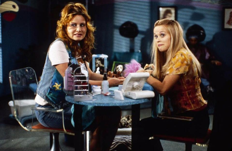 Jennifer Coolidge and Reese Witherspoon in a scene from Legally Blonde (Alamy/PA)