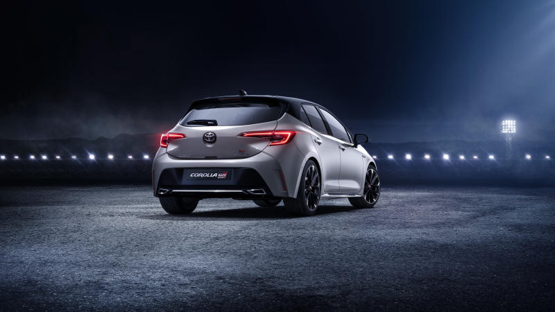 The rear of the GR Sport has been given a dynamic refresh too