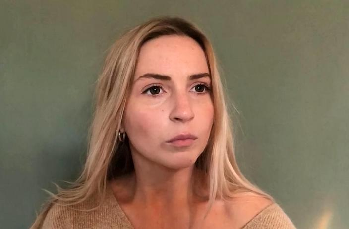 Isabella Brazier Jones says she was held for 24 hours, deported and banned from entering the US for ten years after US immigration officials found a two-year-old text about cocaine on her phone (Picture: SWNS)