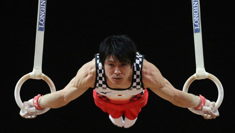 Japan's Kohei Uchimura is the main draw at a friendly gymnastics competition in Tokyo