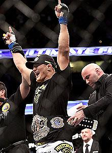 UFC's Fox debut neither home run nor strikeout