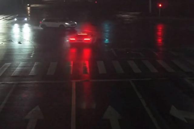 Supercar collides with another after running red light in China