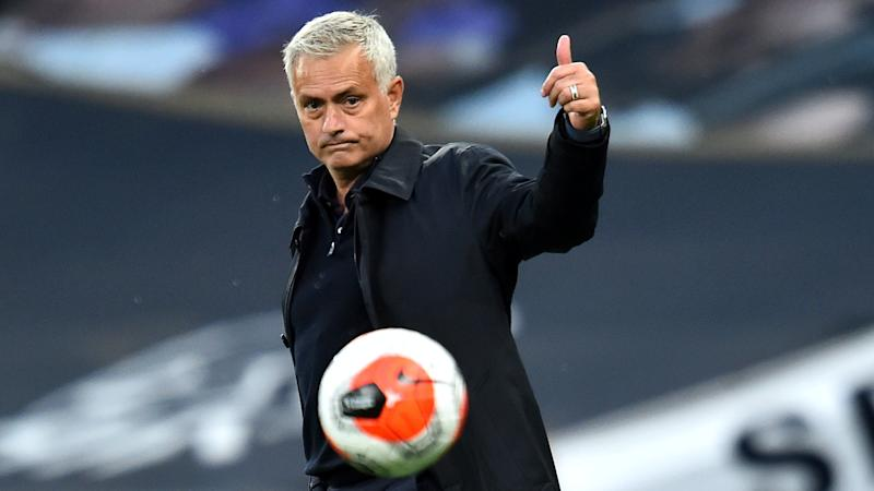 The picture is done – Jose Mourinho delights Macedonian journalist