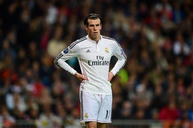 Gareth Bale joined Real Madrid in 2013 for a then-world record fee (Adam Davy/PA)