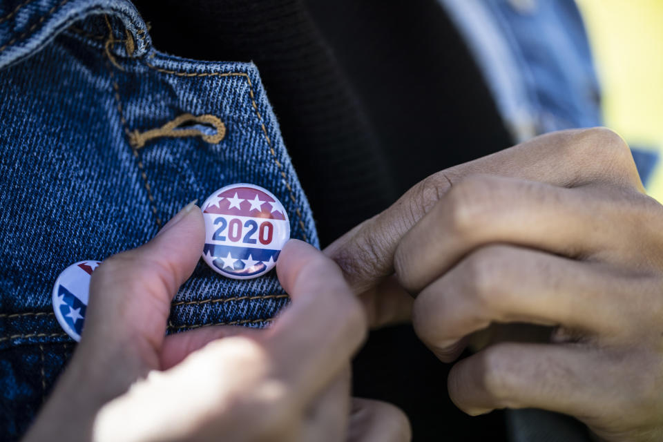 Don't head to the polls without giving your outfit a once-over. (Photo: Getty Creative stock image)