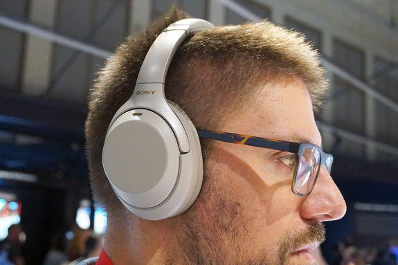 These headphones are perfect for flyers.