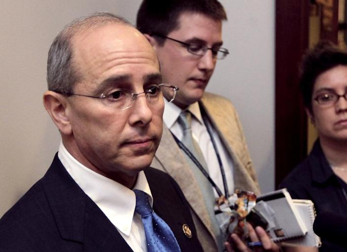 FILE - In this July 21, 2011 file photo House Ways and Means Oversight subcommittee Chairman Rep. Charles Boustany, R-La., speaks on Capitol Hill in Washington. The Supreme Court's decision to uphold most of President Barack Obama's health care law puts the Internal Revenue Service at the center of the debate, renewing questions about whether the agency is capable of policing the health care decisions of millions of Americans while also collecting the taxes needed to fund the federal government. (AP Photo/J. Scott Applewhite, File)