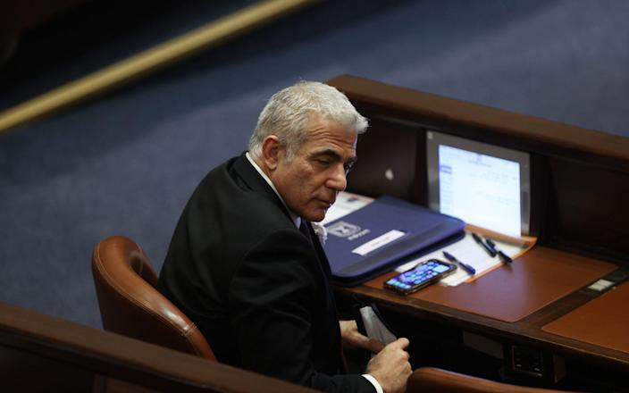 Yair Lapid, the leader of Yesh Atid, could get the chance to form a government - EPA