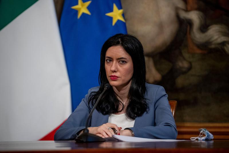 ROME, ITALY - JUNE 26: Education Minister Lucia Azzolina holds a press conference with Italian Prime Minister Giuseppe Conte (Not in picture) to present the guidelines for the reopening of schools in September under safety conditions at Palazzo Chigi on June 26, 2020 in Rome, Italy. An agreement was reached today between the government, regions, provinces, and municipalities for a planned reopening of Italian schools on September 14th. (Photo by Antonio Masiello/Getty Images) (Photo: Antonio Masiello via Getty Images)