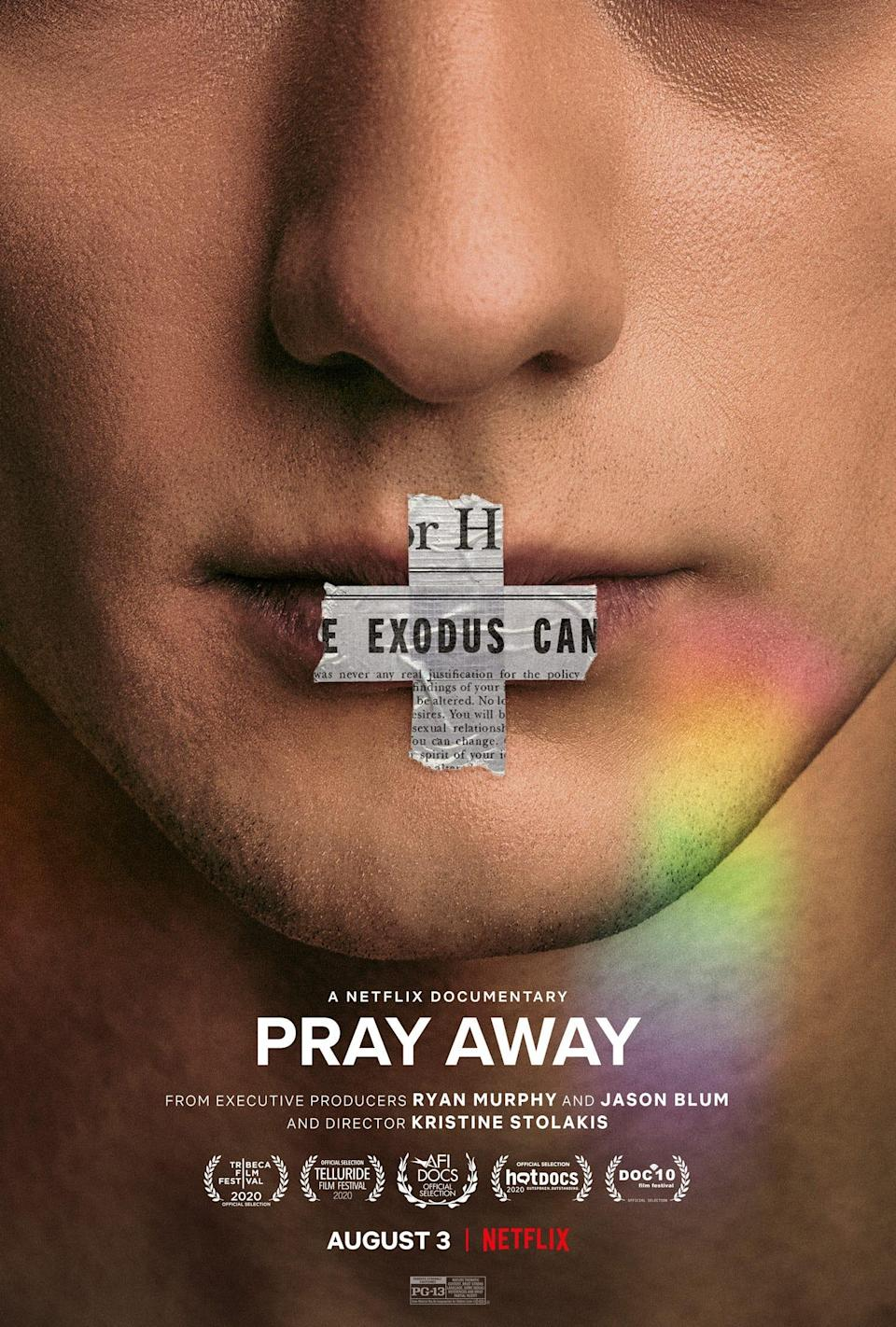 """Netflix's newest documentary""""Pray Away"""" rips back the controversial curtain that is the conversion therapy movement."""