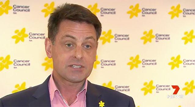 Mr Size said the Cancer Council wasn't surprised. Source: 7 News