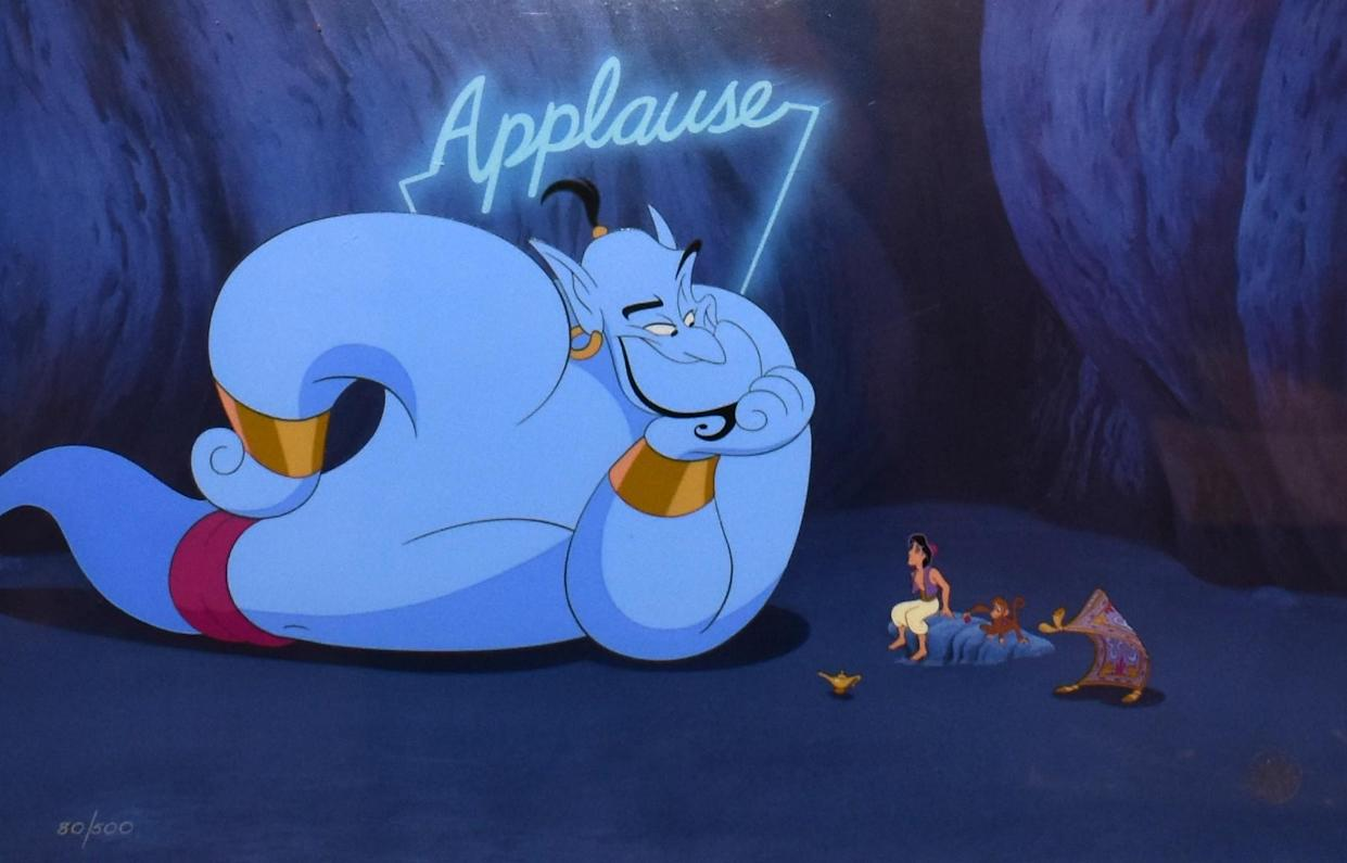 """There is a ton of interest for Disney's new streaming service.(Photo: Screenshot/""""Alladin""""/Disney)"""